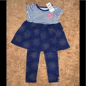 First Impression Toddler Girl Tunic & Legging Set